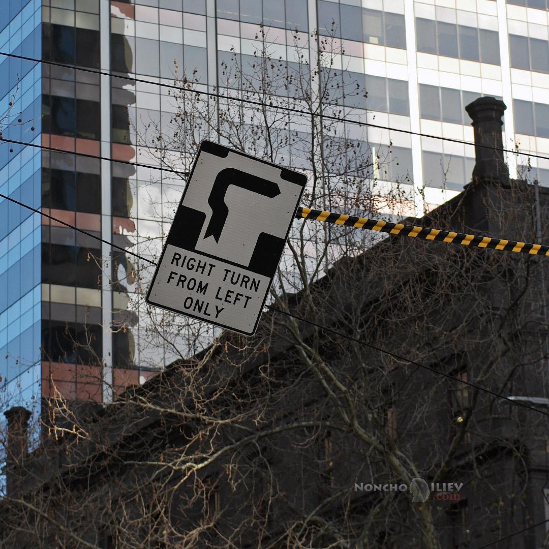 Melbourne sign