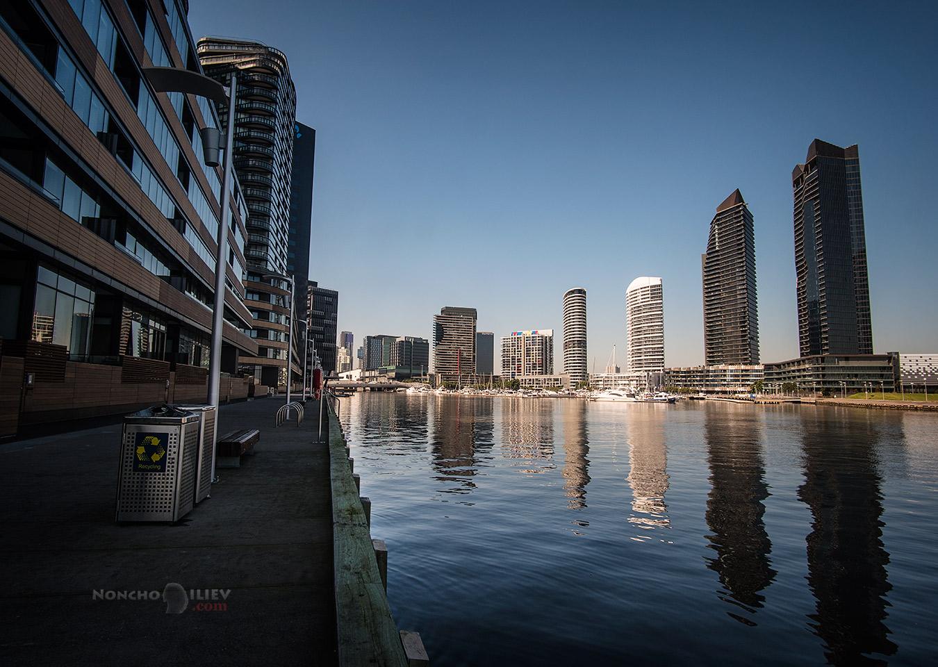 Melbourne docks