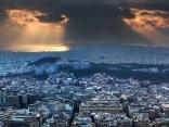 Атина в лъчи