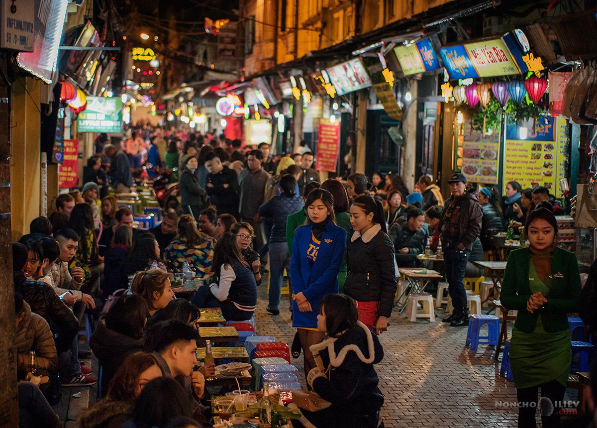 Hanoi Vietnam night