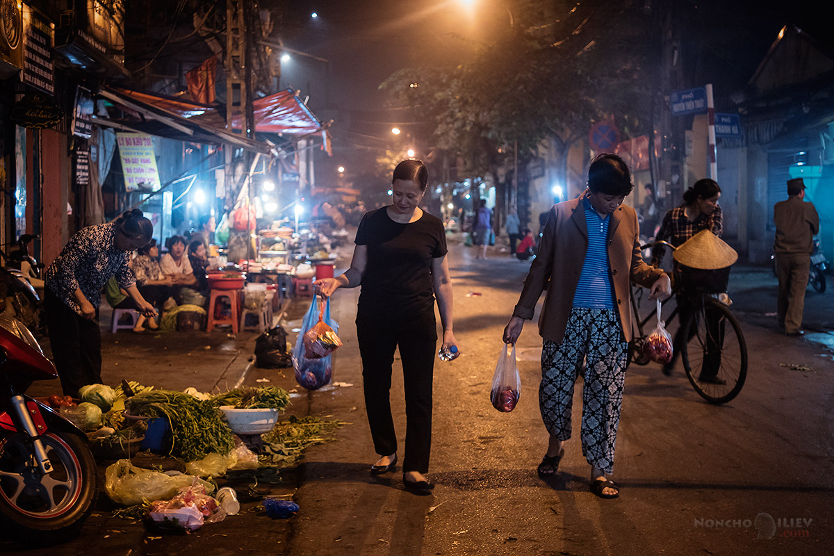 Hanoi Vietnam night