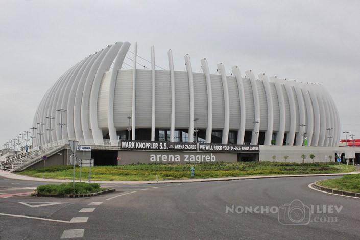 arena zagreb, croatia