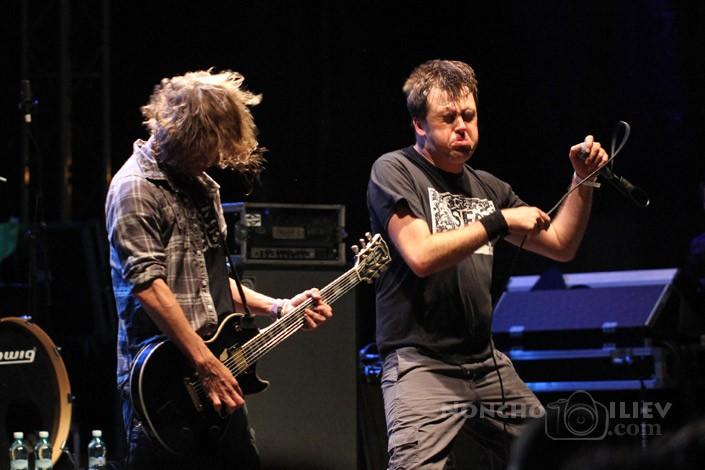 Napalm Death, Rockstadt Extreme Fest 2013