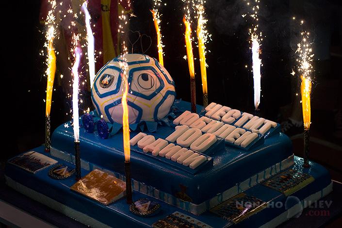 100 години Левски торта снимка