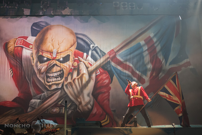 Iron Maiden - Bruce Dickinson, The Trooper