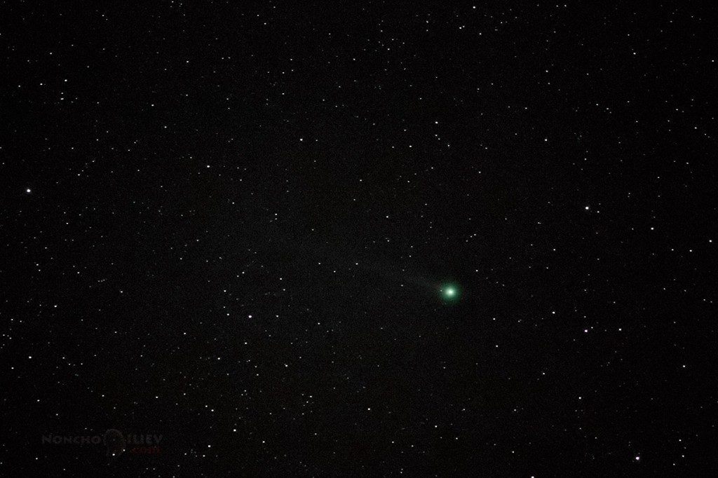 lovejoy comet vitosha bulgaria