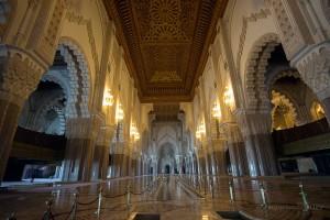 казабланка джамия хасан II отвътре