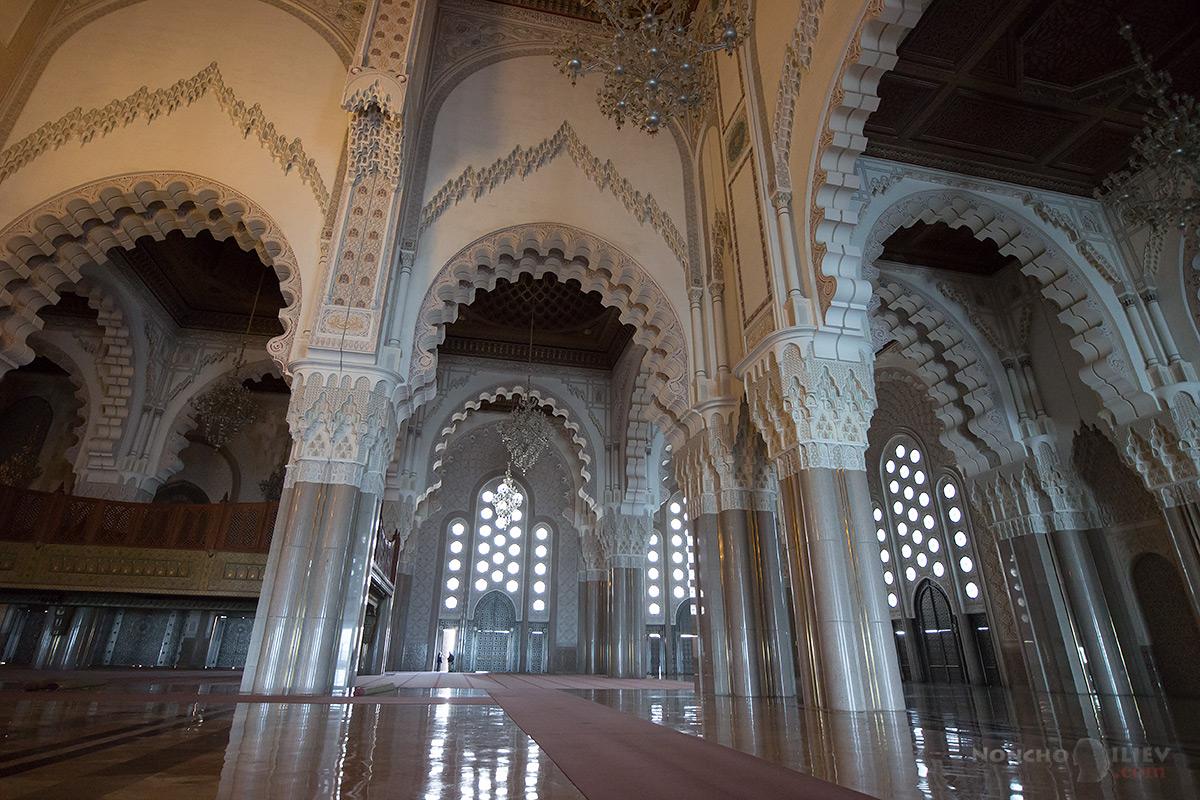 казабланка мароко джамия Hassan II