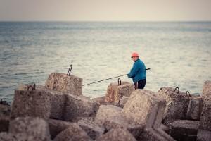 рибар изгрев вълнолом буна
