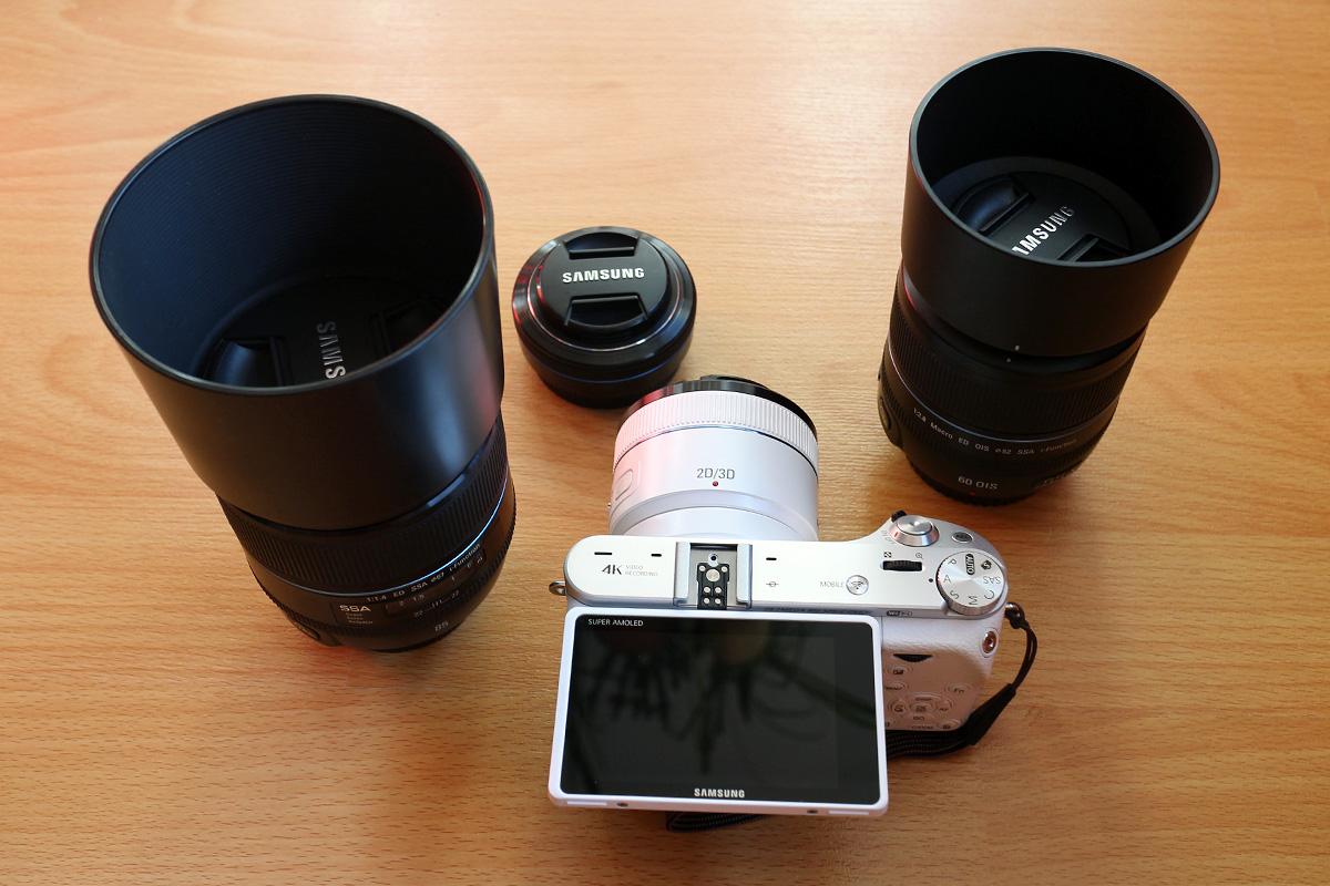 samsung nx500 lenses test setup