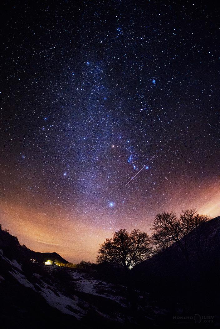 звездно небе над хижа рай