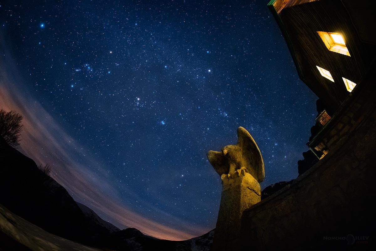 орелът и звездите