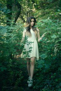 портрет в гора