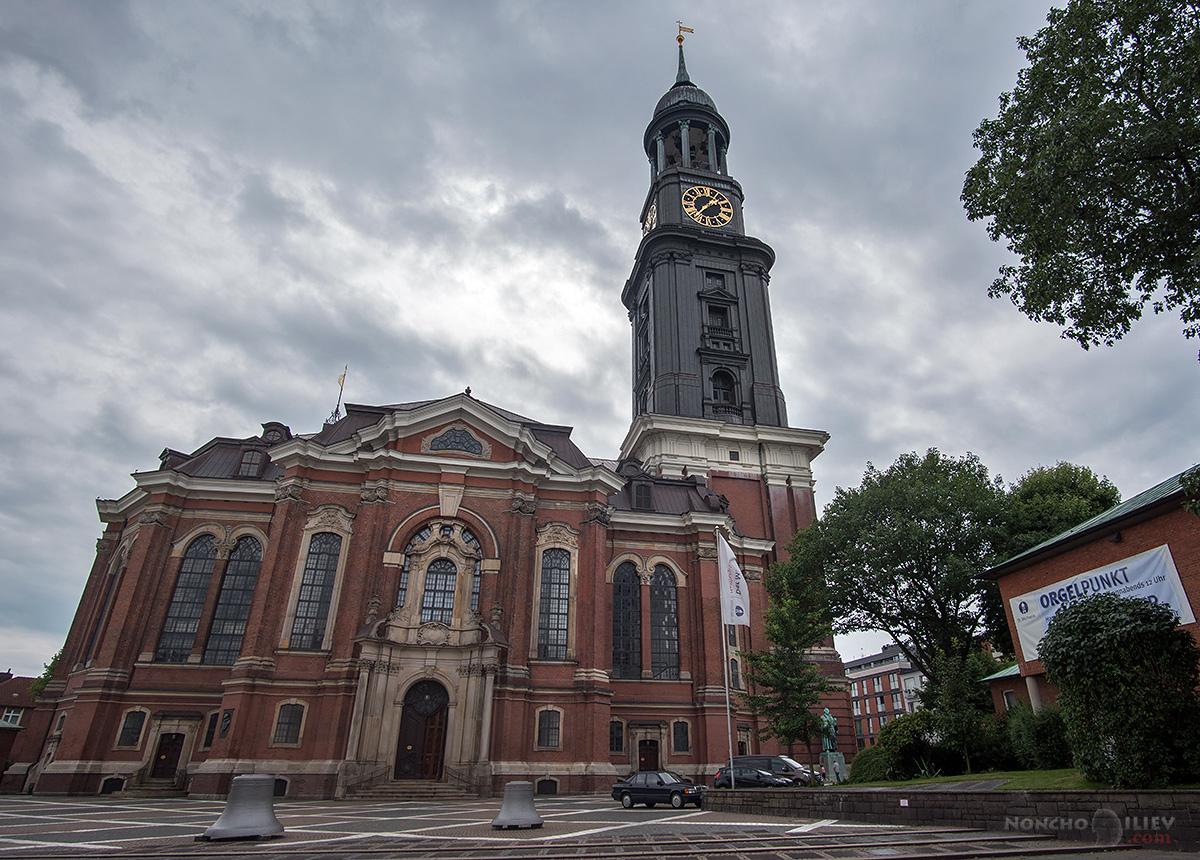 Хамбург Hauptkirche St. Michaelis