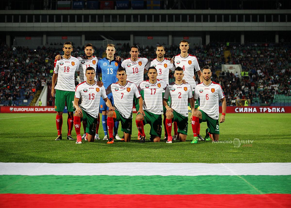 България Швеция отборна снимка
