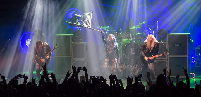 Arch Enemy Sofia Bulgaria 2017