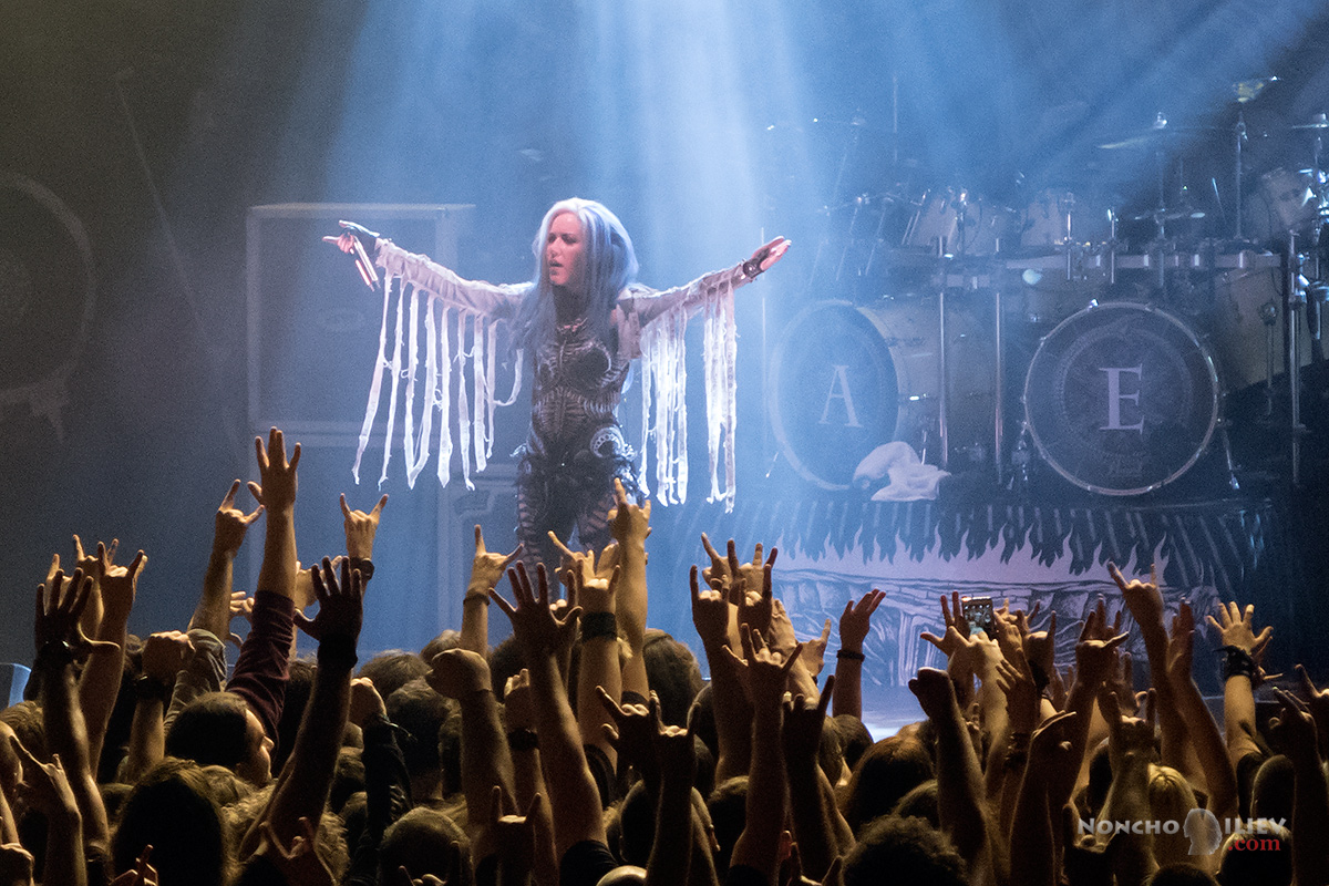 Arch Enemy Sofia Bulgaria 2017 Alissa