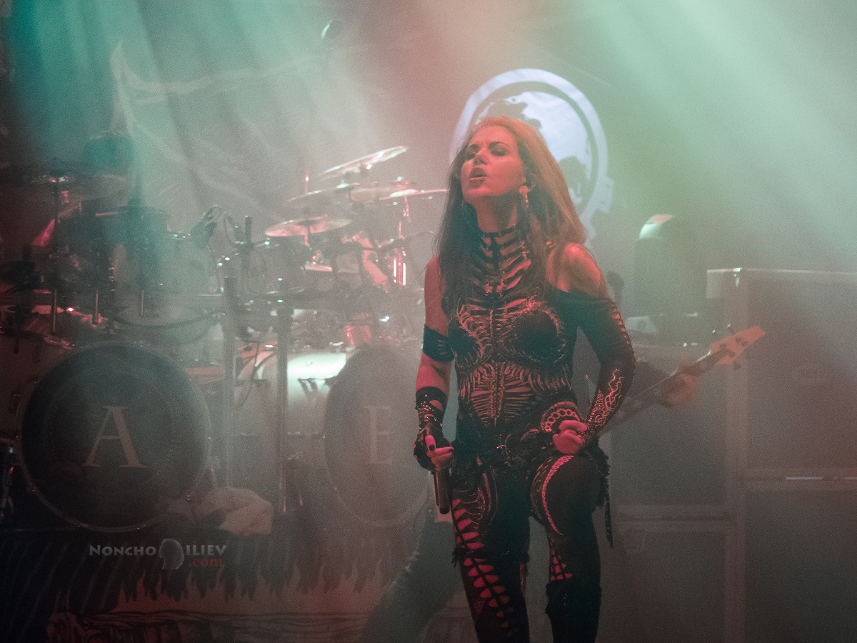 Arch Enemy Sofia Bulgaria 2017 will to power tour