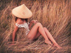 лято светлина жена шапка