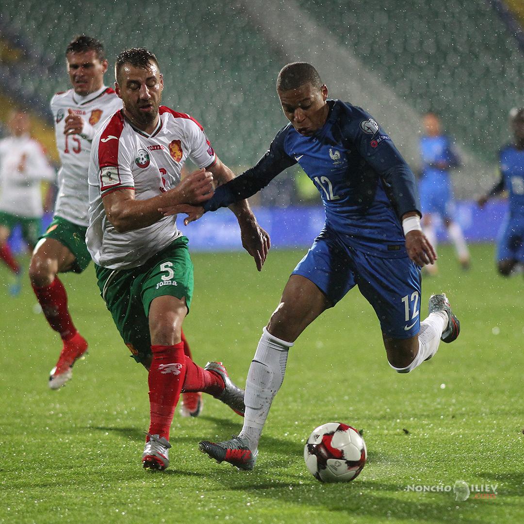 България - Франция Бодуров Мбапе