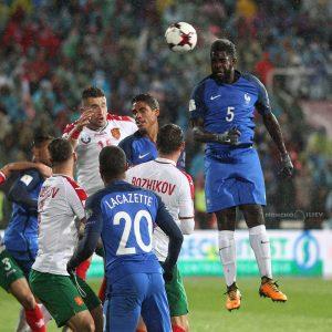 България - Франция футбол