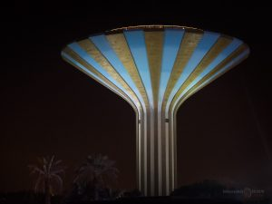 riyadh saudi arabia water tower