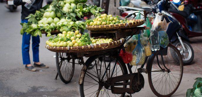 Ханой, Виетнам - ден