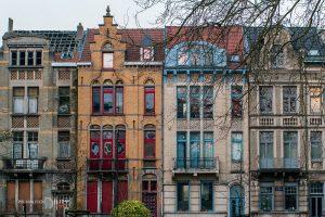 цветни къщи брюксел