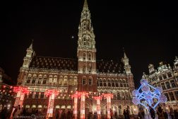 Grand Place Brussels Belgium night