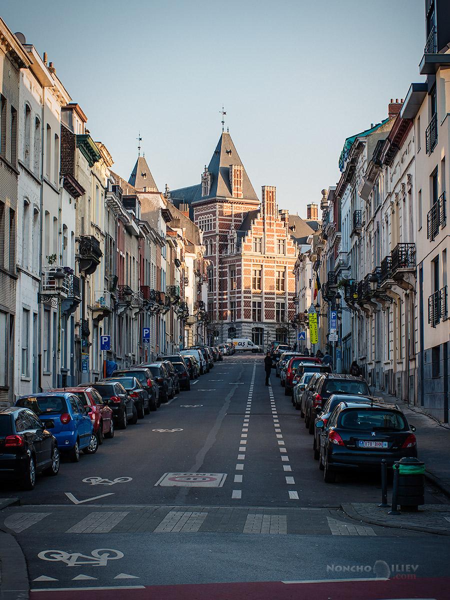 Schaerbeek street