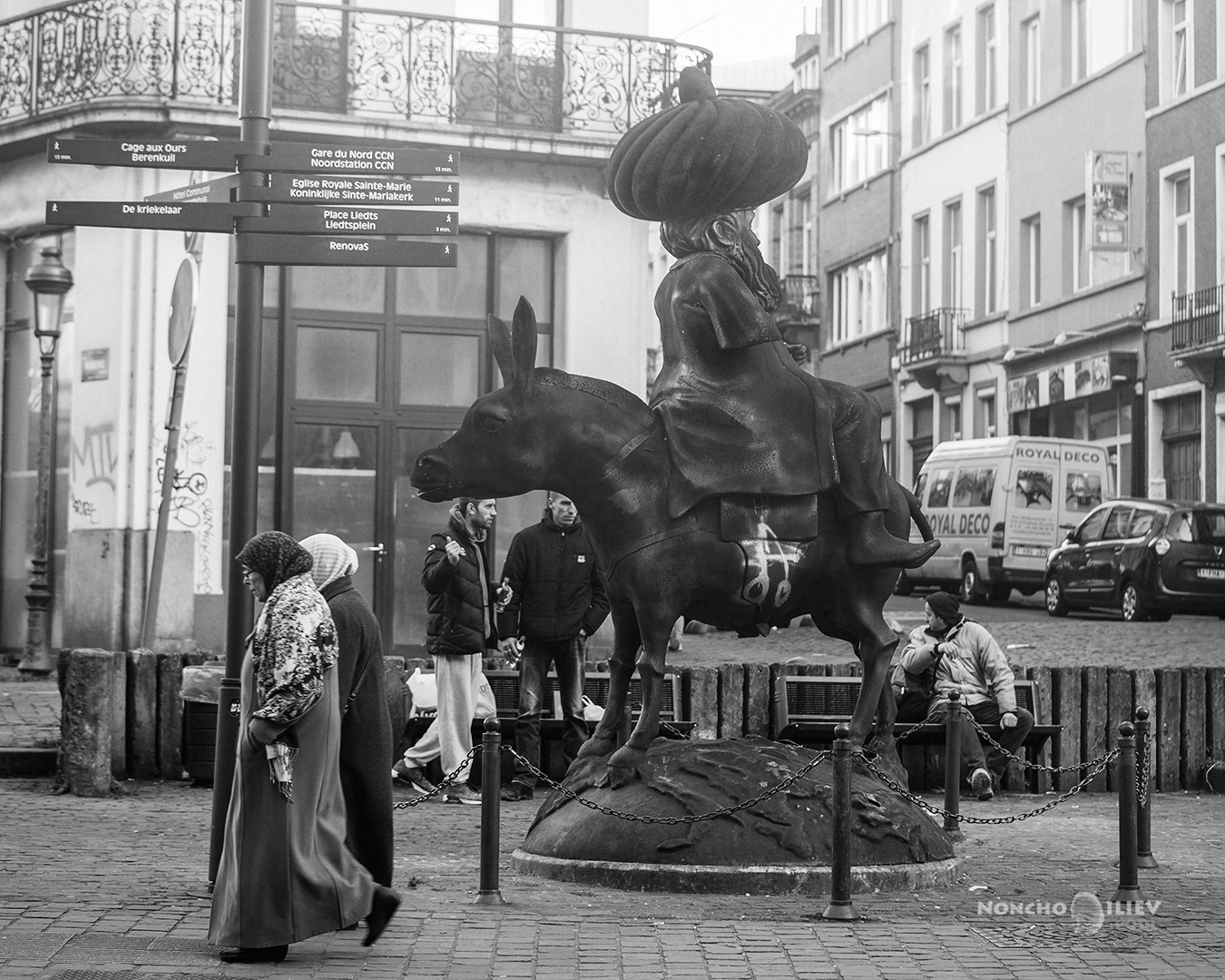 Nasrettin Hoca Brussels street