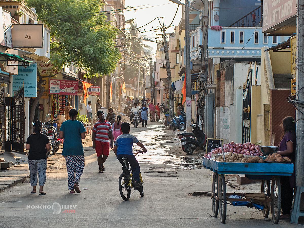 streets of bangalore india