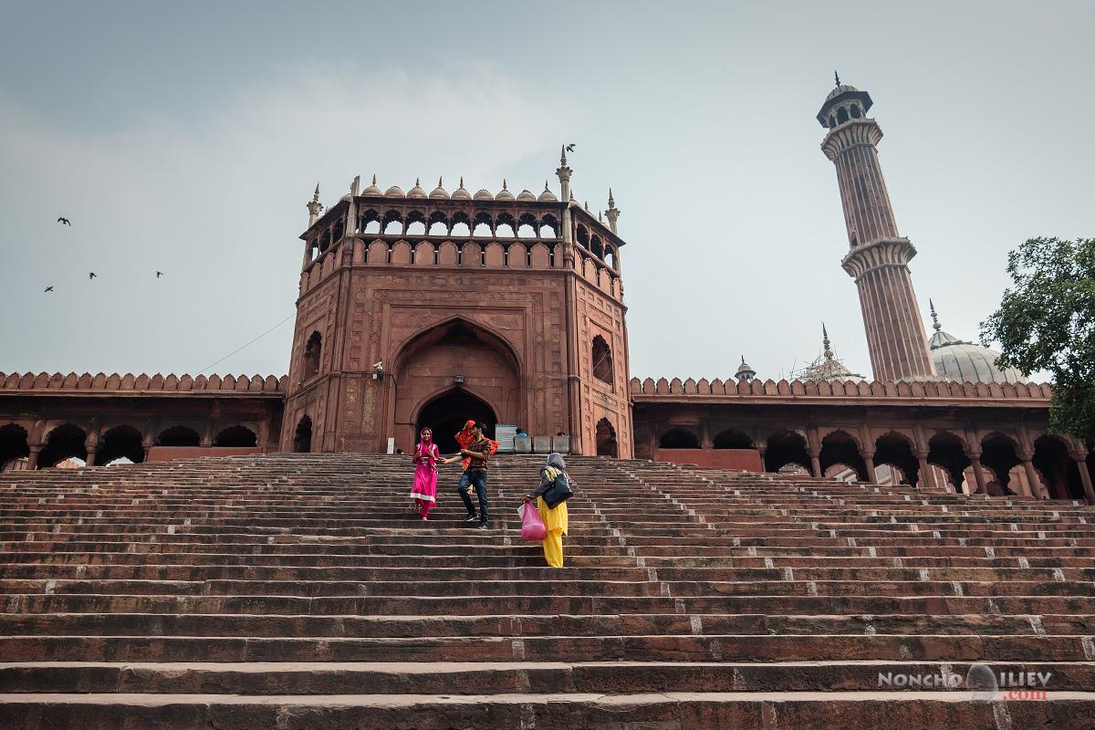 india delhi индия делхи jama masjid