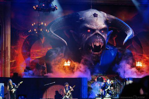 Iron Maiden Пловдив Hills of Rock 2018