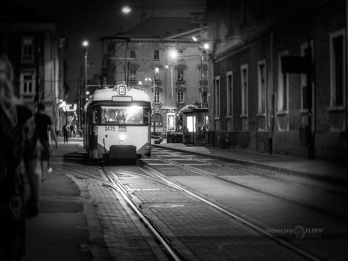 Тимишоара трамвай вечер