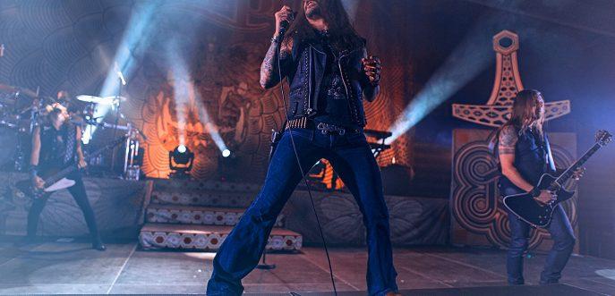 Amorphis band concert