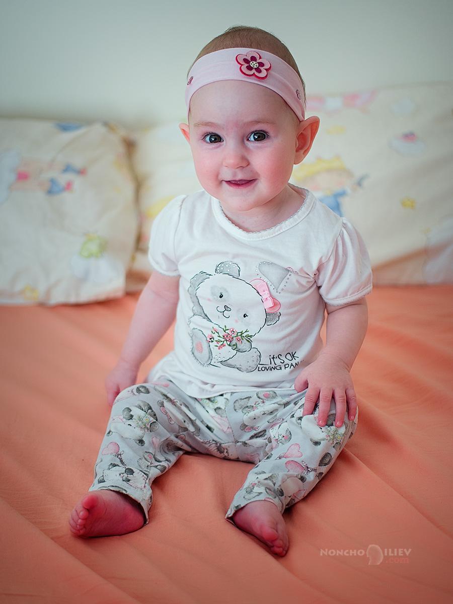 Лили-Ан на 7 месеца