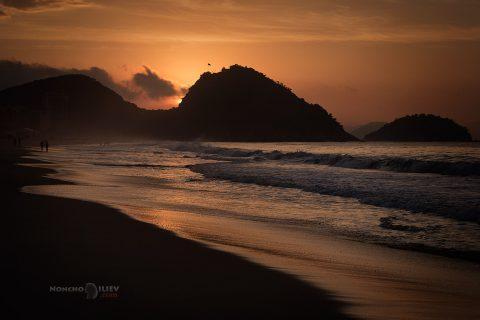 Рио Копакабана изгрев