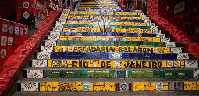 Selaron, Rio de Janeiro