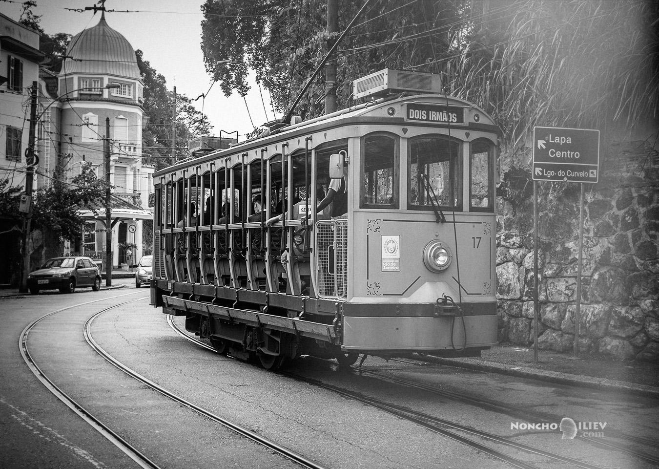 Ретро Трамвай, Санта Тереза, Рио