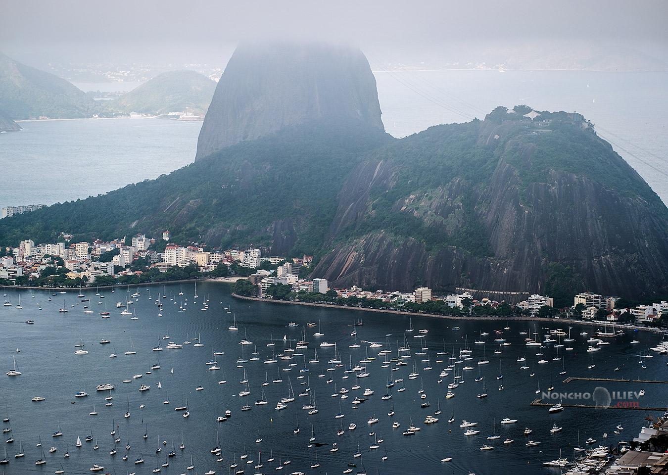 Пао де Асукар / Sugarloaf и залив Ботафого, Рио