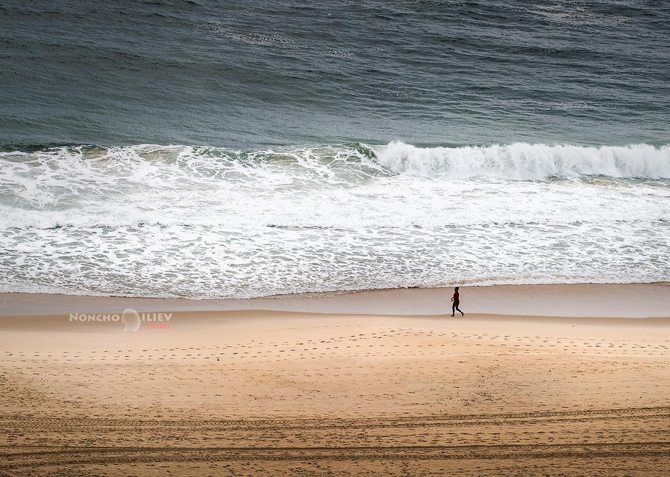 Бразилия Рио Копакабана вълни