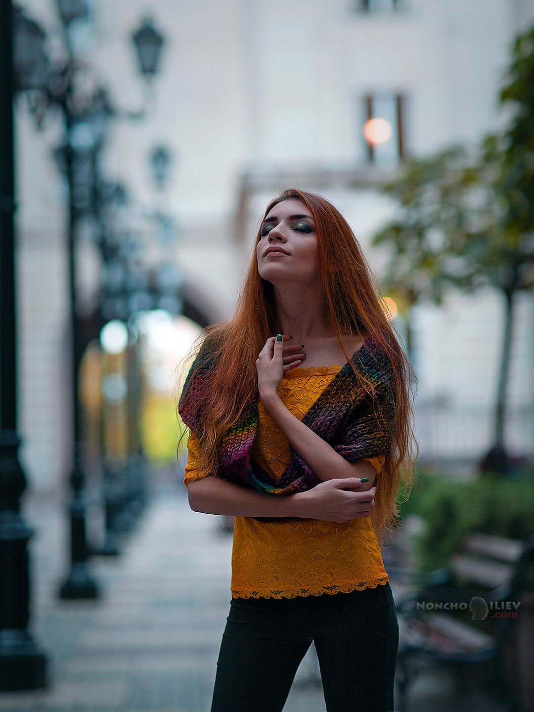 Есенни градски портрети