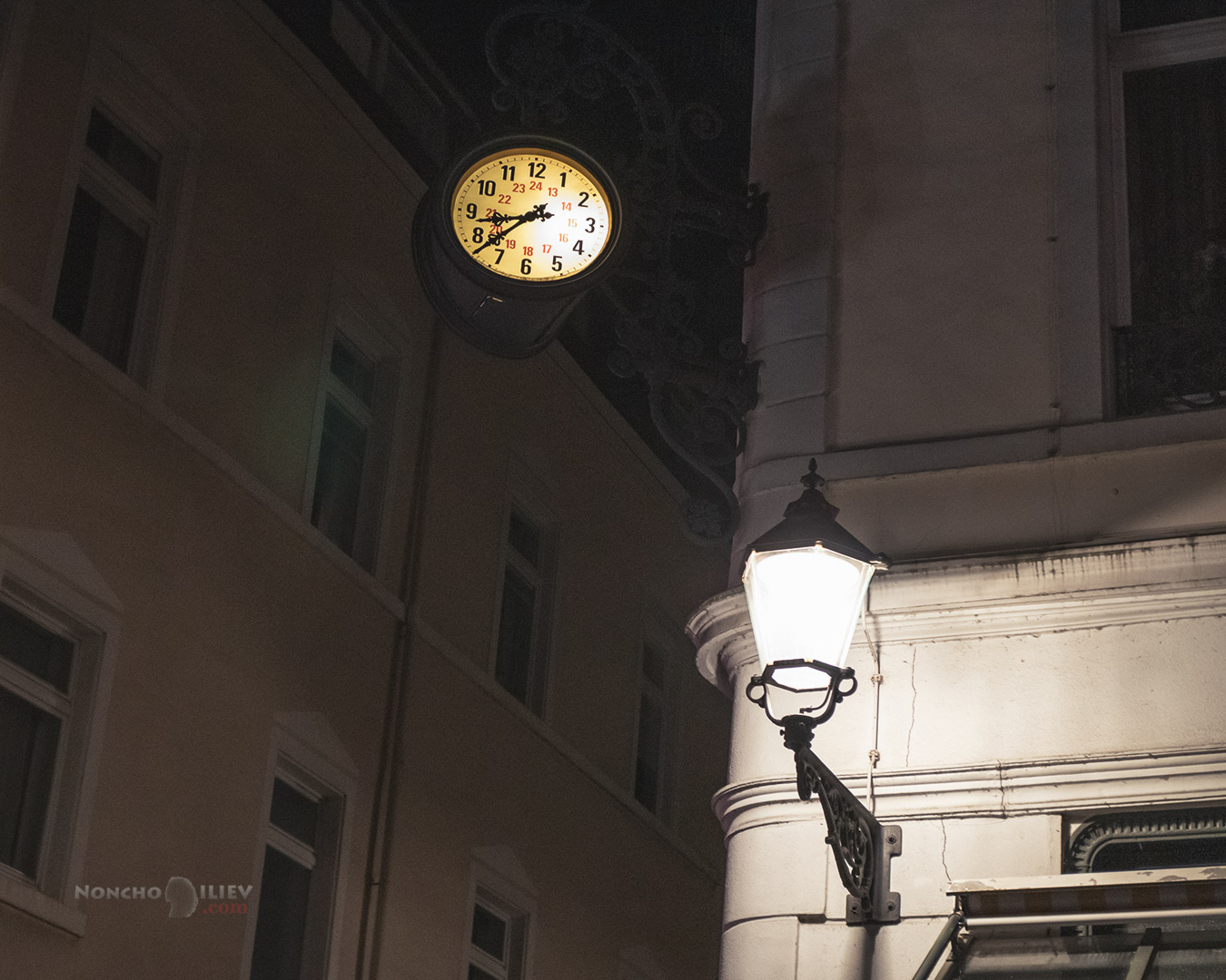 Баден-Баден нощ
