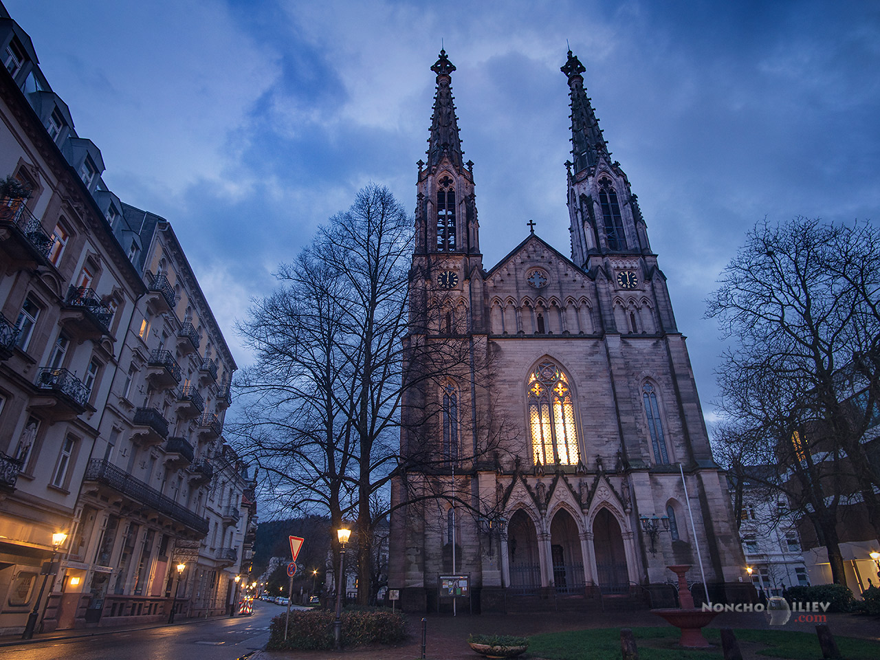 Баден-Баден църква