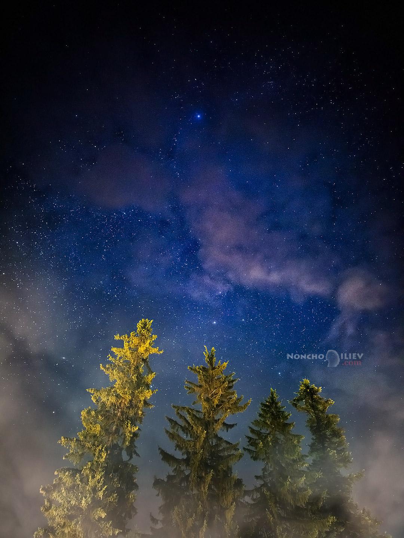 Нощно небе