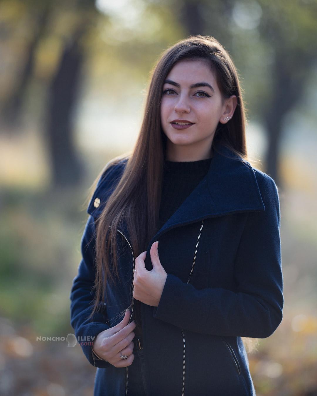 портрет модел 135