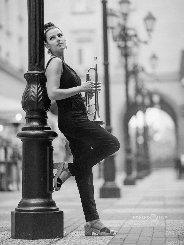 Портрет с тромпет